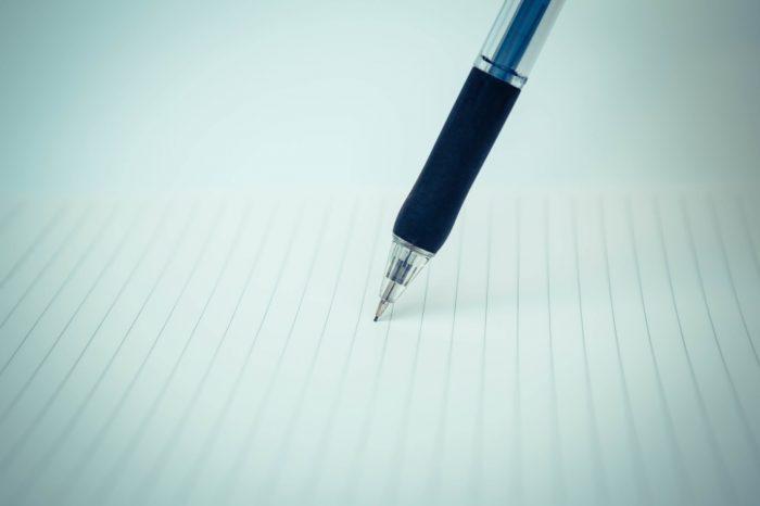 ノートとシャープペン